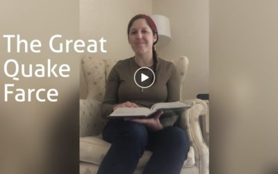 The Great Quake Farce – Pastor Laura Dilley